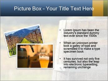Wine Barrel PowerPoint Template - Slide 20