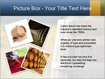 Wine Barrel PowerPoint Template - Slide 23