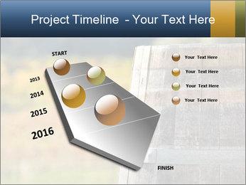 Wine Barrel PowerPoint Template - Slide 26