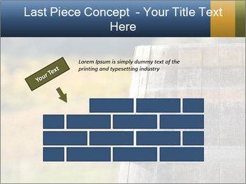 Wine Barrel PowerPoint Template - Slide 46