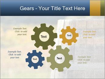 Wine Barrel PowerPoint Template - Slide 47