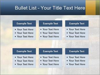 Wine Barrel PowerPoint Template - Slide 56