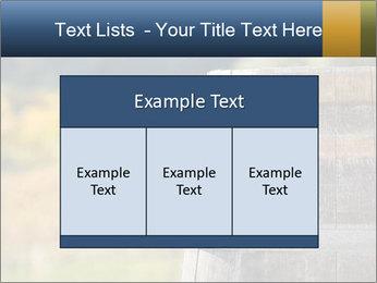 Wine Barrel PowerPoint Template - Slide 59