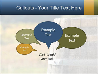 Wine Barrel PowerPoint Template - Slide 73