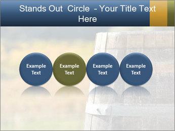 Wine Barrel PowerPoint Template - Slide 76