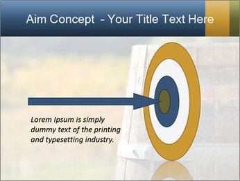 Wine Barrel PowerPoint Template - Slide 83
