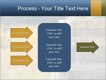 Wine Barrel PowerPoint Template - Slide 85