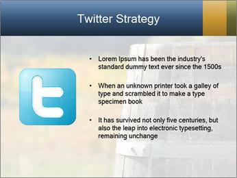 Wine Barrel PowerPoint Template - Slide 9