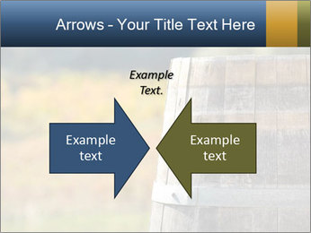 Wine Barrel PowerPoint Template - Slide 90