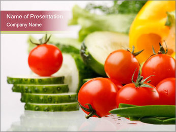 Vegetables. PowerPoint Template