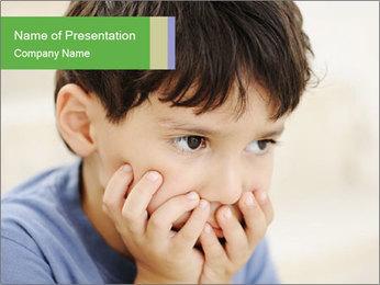 Autism PowerPoint Template - Slide 1