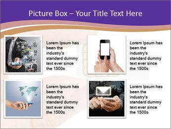 Sim card PowerPoint Template - Slide 14