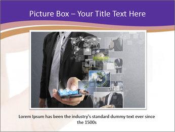 Sim card PowerPoint Template - Slide 15
