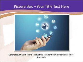 Sim card PowerPoint Template - Slide 16