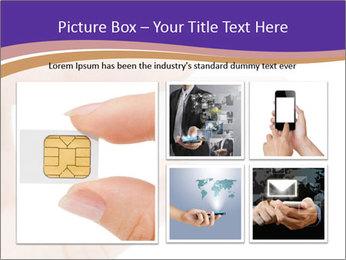 Sim card PowerPoint Template - Slide 19