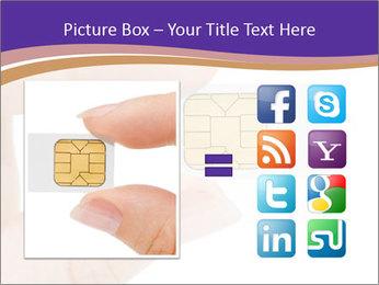Sim card PowerPoint Template - Slide 21