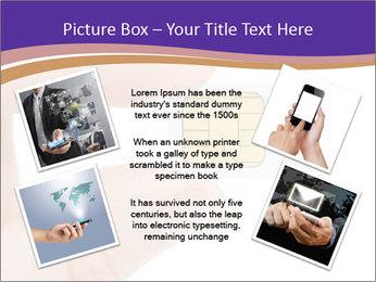Sim card PowerPoint Template - Slide 24