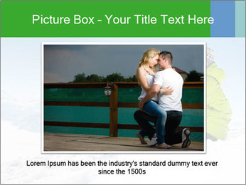Couple in snowy PowerPoint Templates - Slide 15