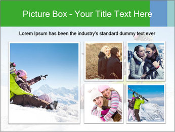 Couple in snowy PowerPoint Templates - Slide 19