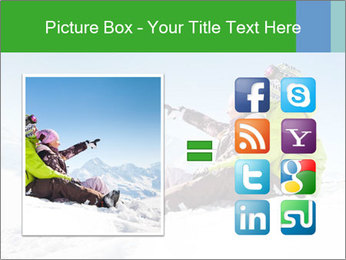 Couple in snowy PowerPoint Templates - Slide 21
