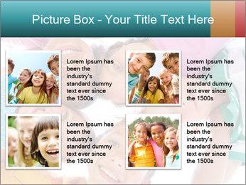 Happy children PowerPoint Template - Slide 14