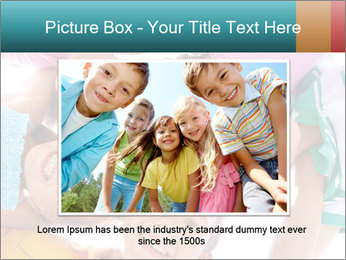 Happy children PowerPoint Template - Slide 15