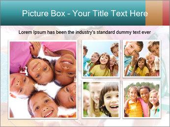 Happy children PowerPoint Template - Slide 19