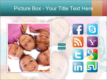 Happy children PowerPoint Template - Slide 21