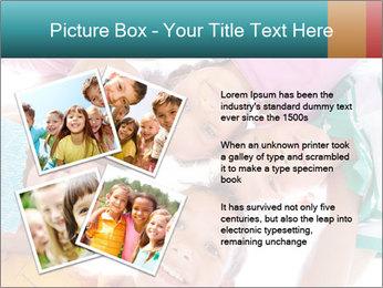 Happy children PowerPoint Template - Slide 23