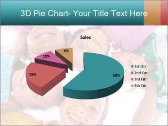 Happy children PowerPoint Template - Slide 35