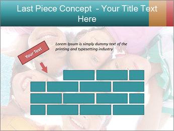 Happy children PowerPoint Template - Slide 46