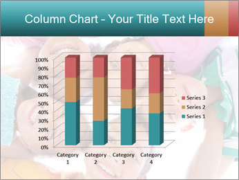 Happy children PowerPoint Template - Slide 50