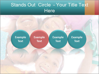 Happy children PowerPoint Template - Slide 76