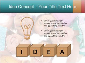Happy children PowerPoint Template - Slide 80