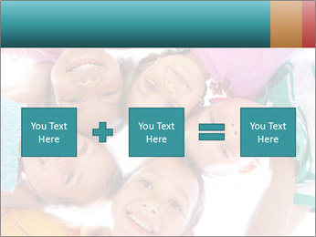 Happy children PowerPoint Template - Slide 95