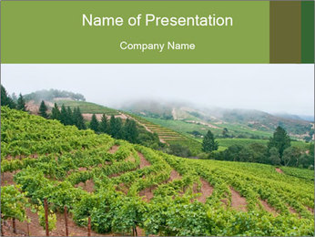 Panoramic shot PowerPoint Template