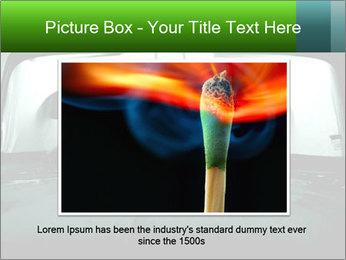 Full of smoke PowerPoint Template - Slide 15
