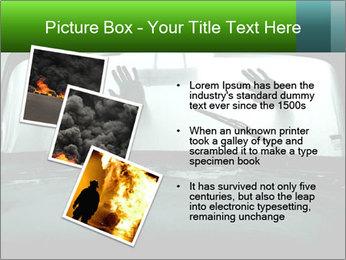 Full of smoke PowerPoint Template - Slide 17