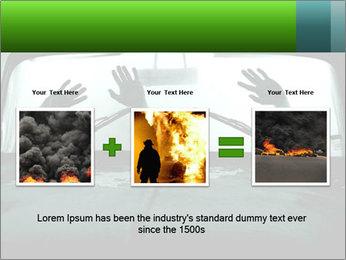 Full of smoke PowerPoint Template - Slide 22