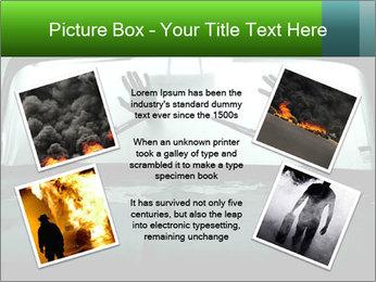 Full of smoke PowerPoint Template - Slide 24