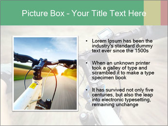 Bike on forest PowerPoint Template - Slide 13
