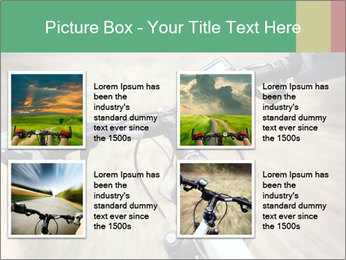 Bike on forest PowerPoint Template - Slide 14