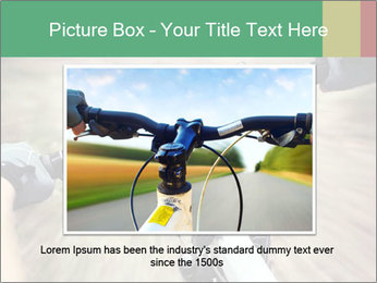 Bike on forest PowerPoint Template - Slide 15