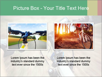 Bike on forest PowerPoint Template - Slide 18