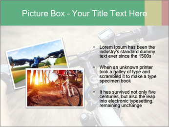 Bike on forest PowerPoint Template - Slide 20