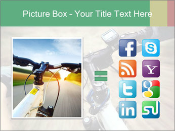 Bike on forest PowerPoint Template - Slide 21
