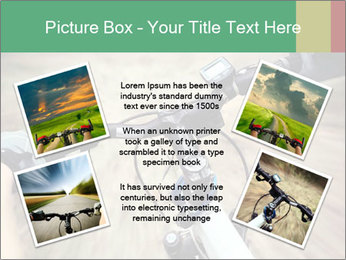 Bike on forest PowerPoint Template - Slide 24