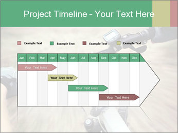 Bike on forest PowerPoint Template - Slide 25