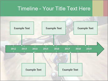 Bike on forest PowerPoint Template - Slide 28