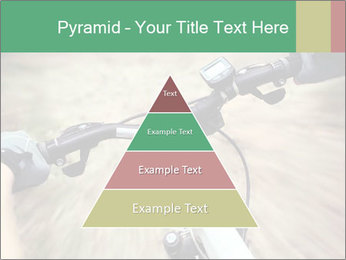Bike on forest PowerPoint Template - Slide 30